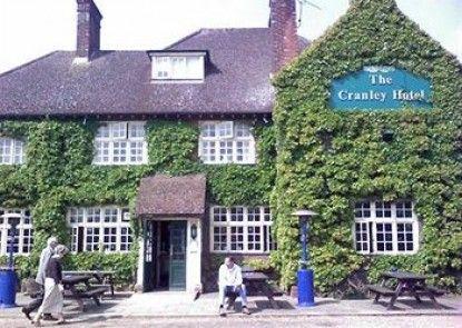 The Cranley Hotel Teras