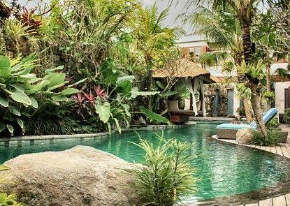 The Dipan Resort Petitenget Kolam Renang Utama