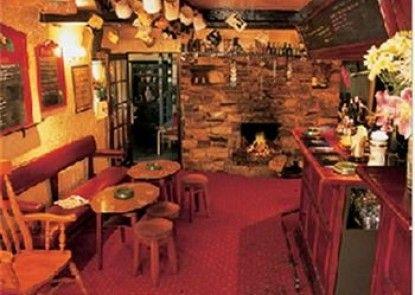 The Druid Inn Teras
