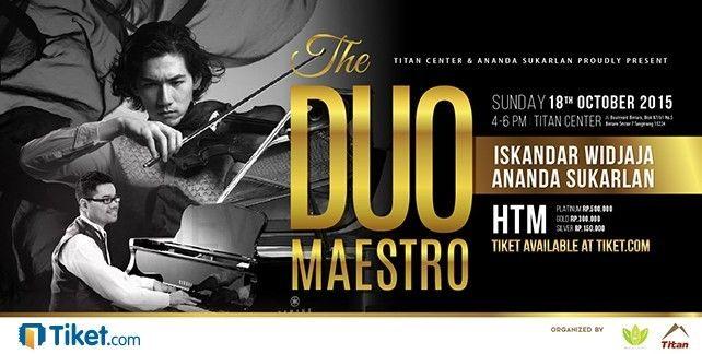 The Duo Maestro Concert 2015