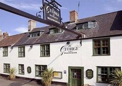 The George At Nunney Teras
