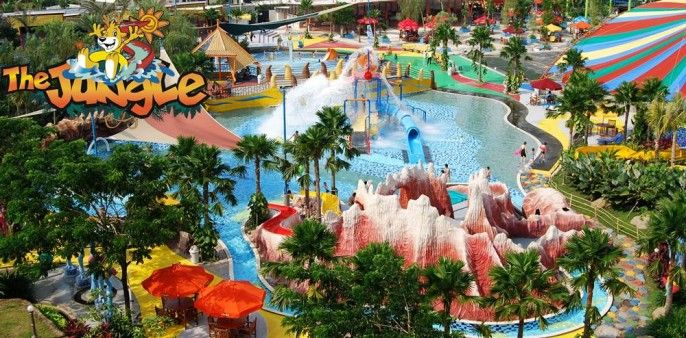 The Jungle Waterpark Bogor