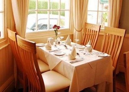 The Moelwyn Restaurant with Rooms Teras