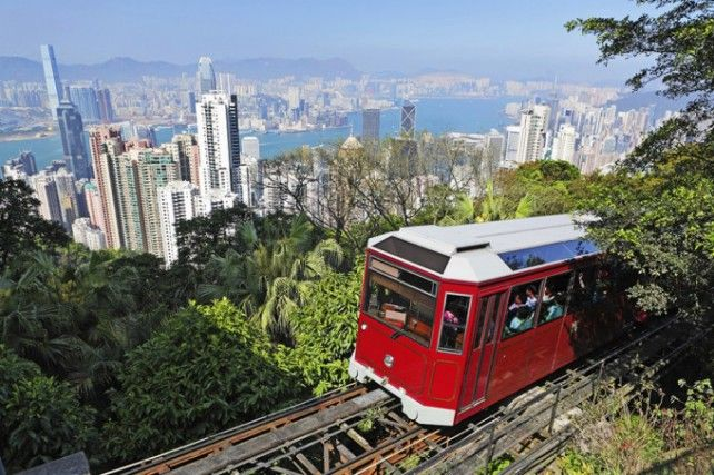 The Peak Tram with Sky Terrace 428 Admission (E-Voucher)