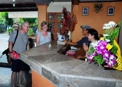 The Rishi Candidasa Beach Hotel Penerima Tamu