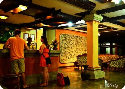 The Rishi Candidasa Beach Hotel Lobby