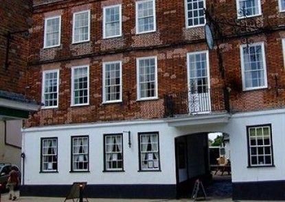The Swan Hotel Teras