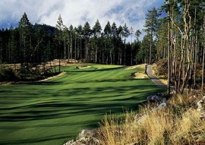 The Westin Bear Mountain Golf Resort & Spa, Victoria Teras
