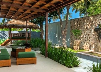 The Chandi Boutique Resort and Spa Teras