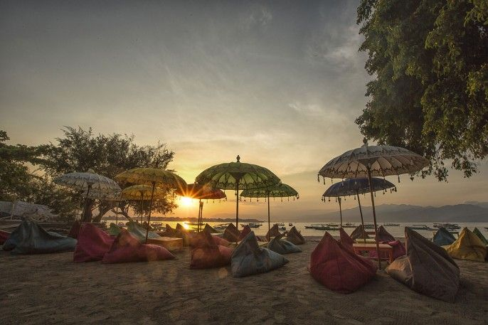 Gili Sands Beach Club, Kepulauan Gili