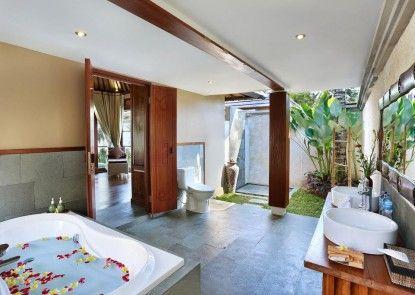 The Kampung Ubud Villas managed by Ozz Group Kamar Mandi