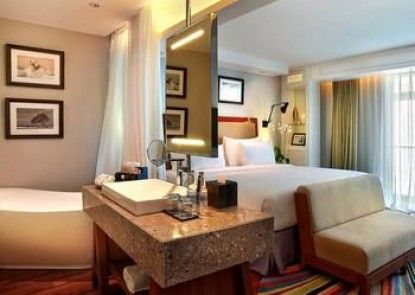 The Kuta Beach Heritage Hotel Bali - Managed By Accor Teras