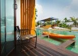 Pesan Kamar Honeymoon Room With Living Space And River Access (pella) di The Oia Resort Pai