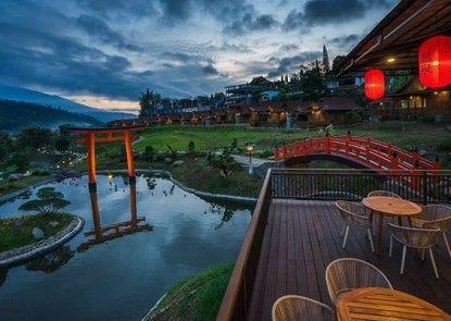 The Onsen Hot Spring Resort Pemandangan