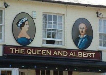 The Queen and Albert