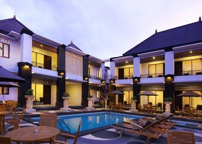 The Radiant Hotel and Spa Teras
