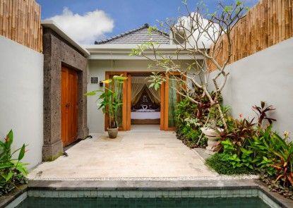 The Widyas Bali Villa Kolam Renang Pribadi