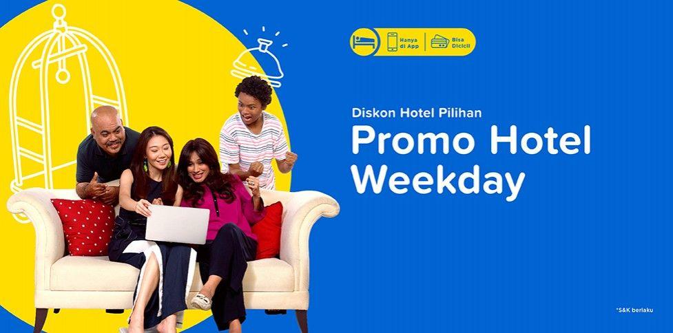 Promo Hotel Weekday, Diskon Hotel Murah