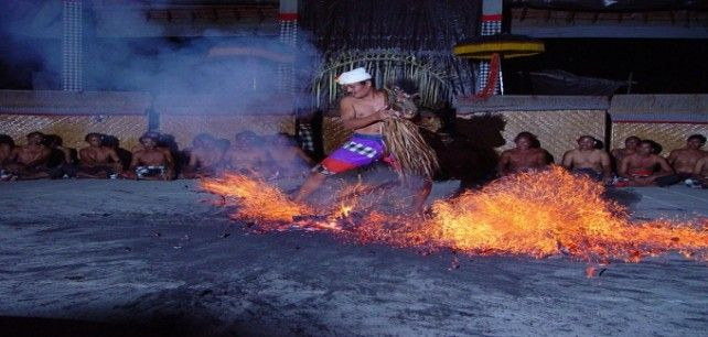 Traditional Evening Fire, Trance & Monkey Dance (Join-in)
