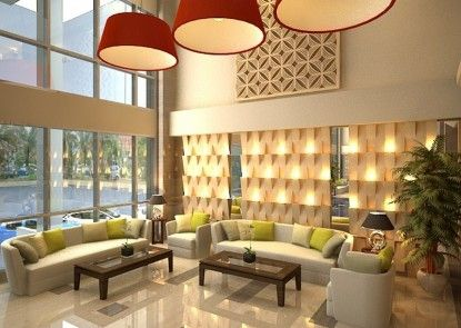 Travellers Hotel Phinisi Makassar Lobby