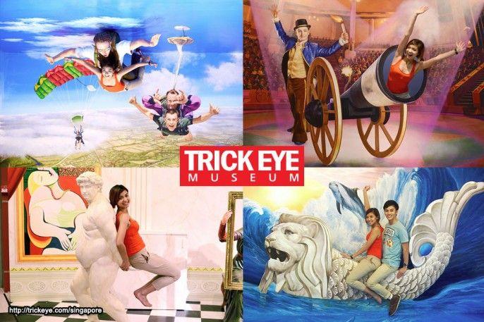 Trick Eye Museum E-voucher