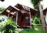 Pesan Kamar Bungalow Standar, 1 Tempat Tidur King, Area Taman di Tubtim Resort