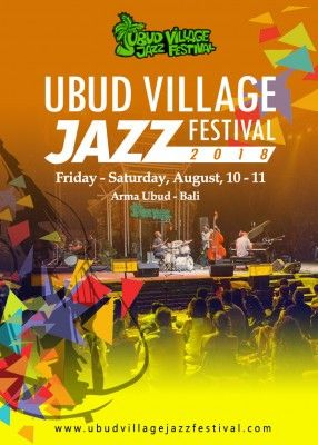 harga tiket Ubud Village Jazz Festival 2018