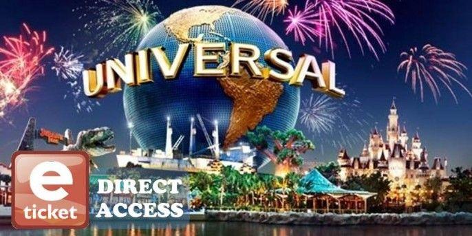Universal Studios Singapore E-ticket