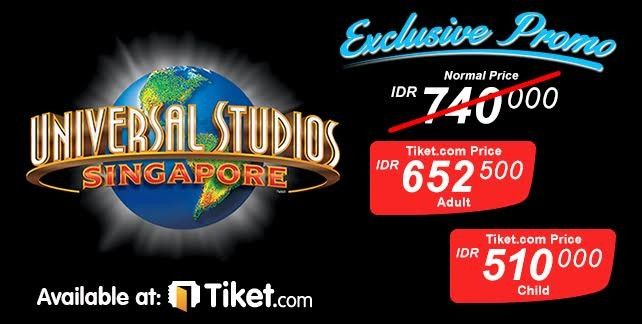 Universal Studios Singapore E-Voucher