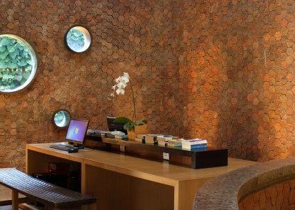 U Paasha Seminyak Hotel Ruang Baca