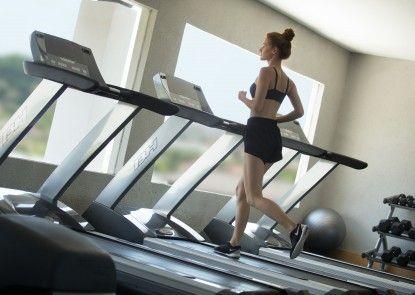 U Paasha Seminyak Hotel Ruangan Fitness