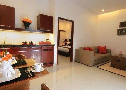 Villa Kamar Kamar Rumah Tamu Ruangan Suite