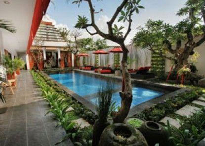 Villa Kamar Kamar Rumah Tamu Kolam Renang