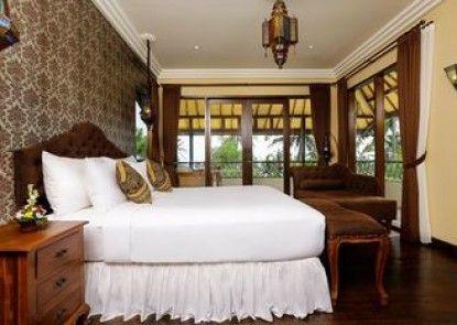 Villa Delmara At Balian Beach Teras