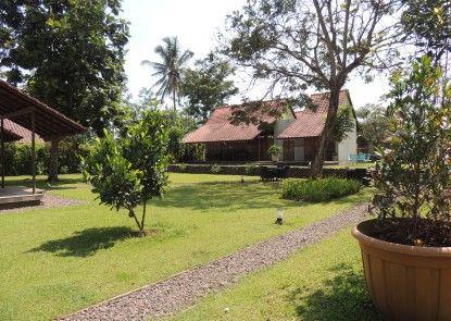 Villa Parikesit Salatiga Taman