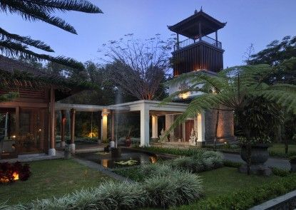 Villa Puri Candikuning Pintu Masuk