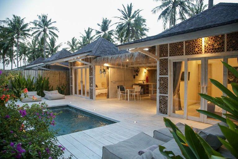 Villas Edenia Gili Trawangan, Kepulauan Gili