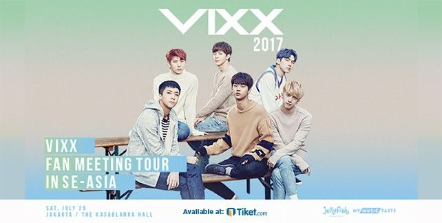 VIXX Fan Meeting Tour In SE - ASIA 2017
