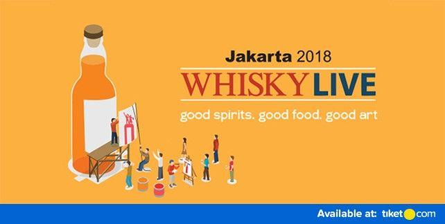 Whisky Live Jakarta 2018
