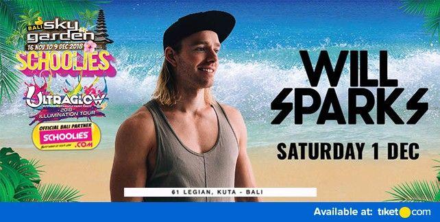 Will Sparks at Sky Garden Bali 2018