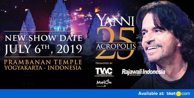 YANNI Prambanan Orchestra 2019