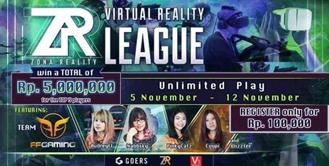 ZONA REALITY New Experience of Virtual Reality Game