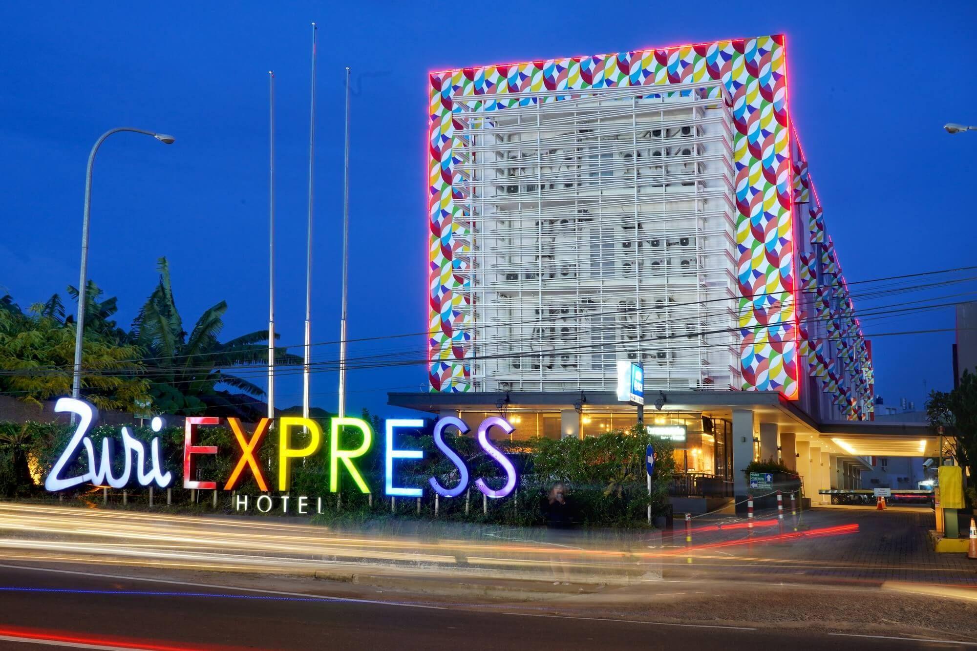 Zuri Express Palembang,Binus University