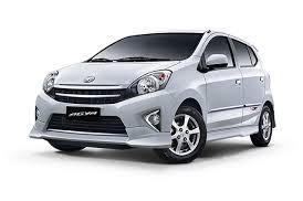 rental mobil Toyota Agya  Padang