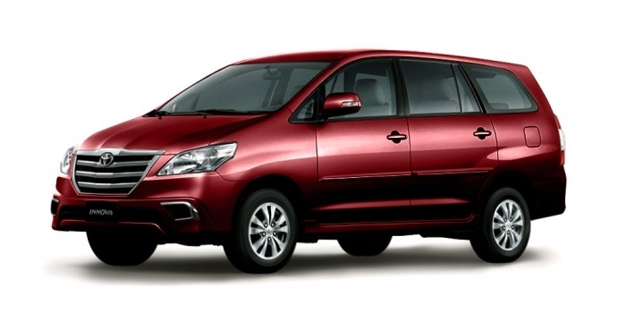rental mobil Toyota All New Innova Lombok Barat