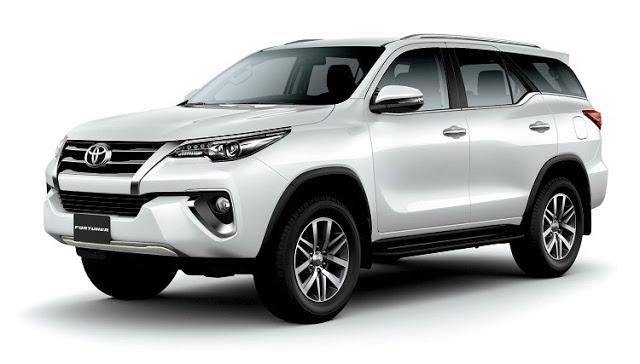 rental mobil Toyota Fortuner VRZ Banda Aceh