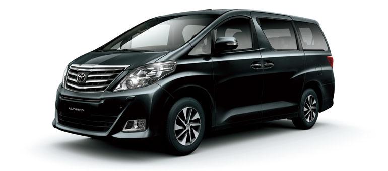 Sewa mobil Toyota New Alphard  di Bali