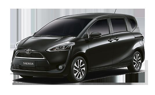 Rental Mobil Toyota Sienta  Sleman