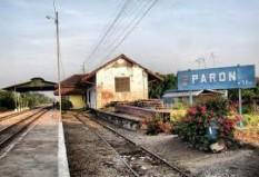Objek Wisata Stasiun Paron