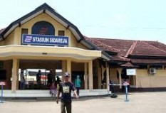 Objek Wisata Stasiun Sidareja